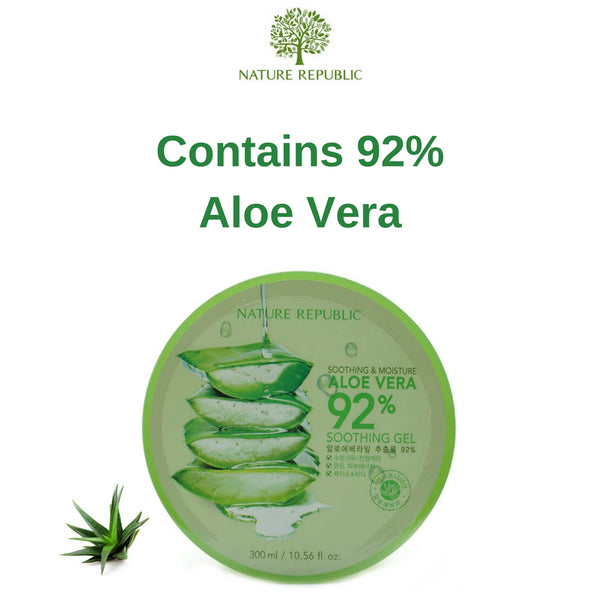 Nature Republic Soothing & Moisturising Aloe Vera 92%