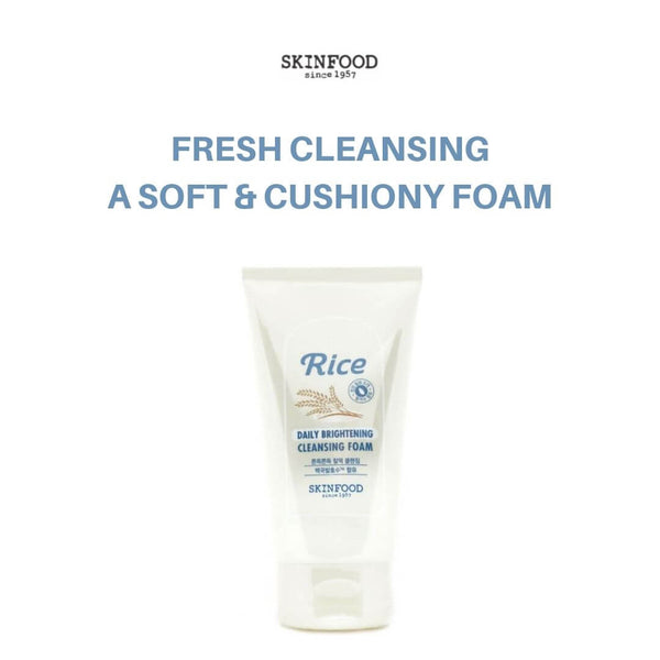 SKINFOOD Rice Daily Brightening Cleansing Foam 150ml