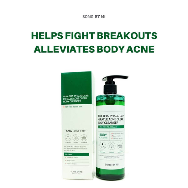 SOME BY MI AHA, BHA, PHA 30 Days Miracle Acne Clear Body Cleanser 400g