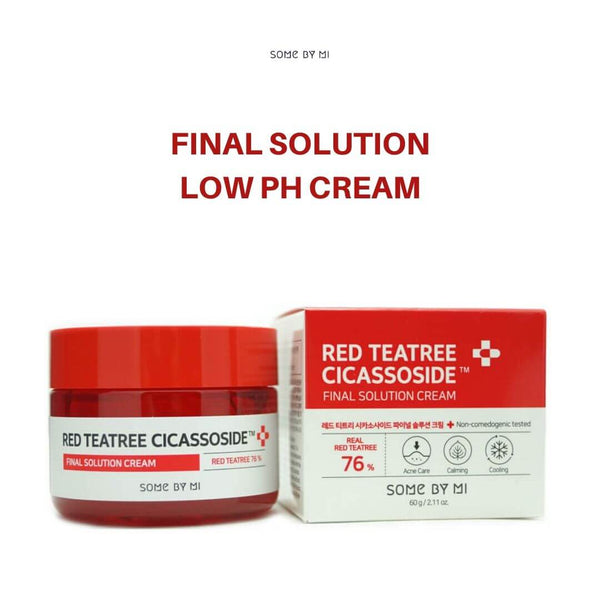 SOME BY MI Red Teatree Cicassoside Final Solution Cream 60g