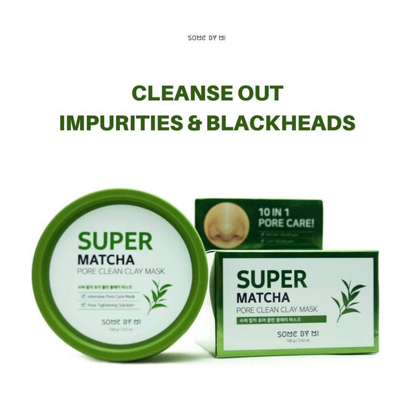 SOME BY MI Super Matcha Pore Clean Clay Mask 100g