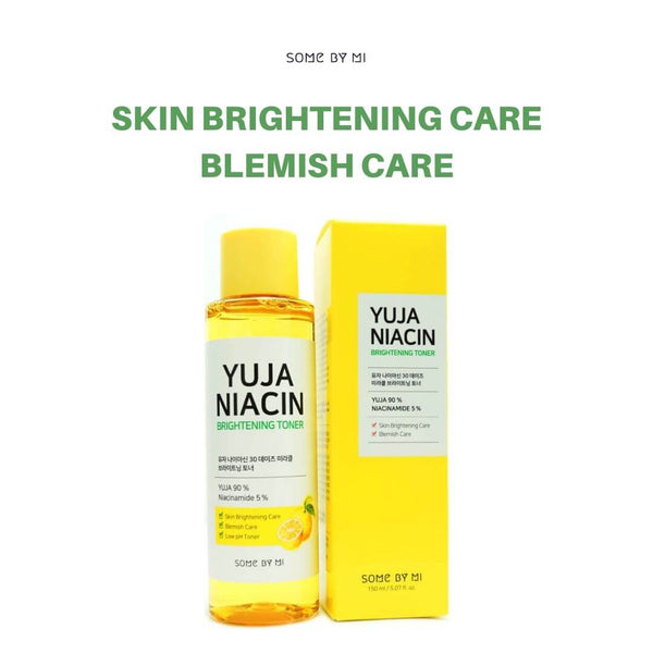 SOME BY MI Yuja Niacin 30 Days Miracle Brightening Toner 150ml