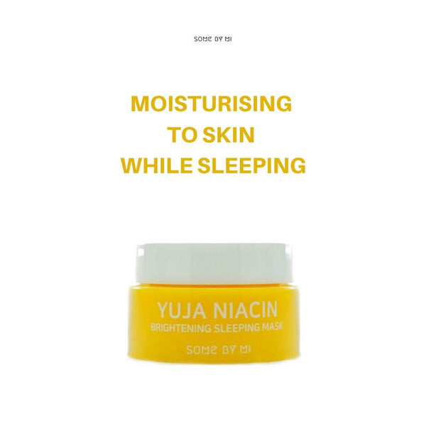 SOME BY MI Yuja Niacin Brightening Sleeping Mask 15g