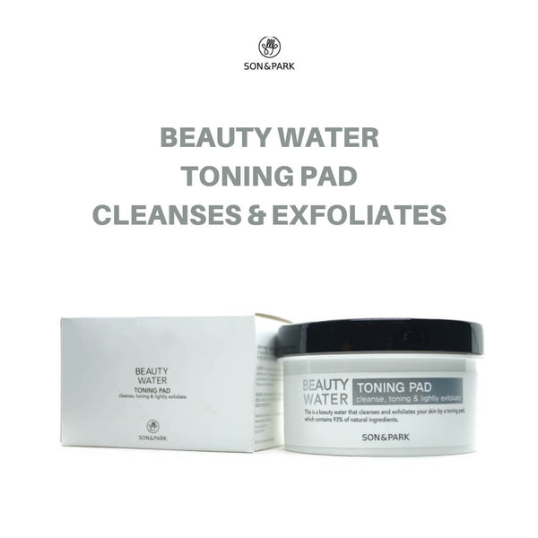 SON & PARK Beauty Water Toning Pad 100g [50 sheets]