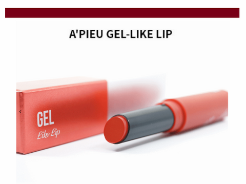 A'PIEU - Gel-like Lip (#OR03 Me My Side)