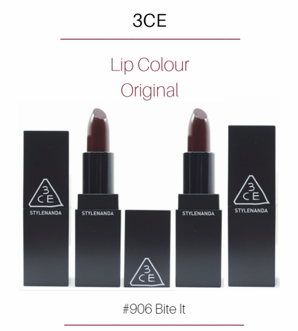 3CE - Lip Colour Original (#906 Bite It)