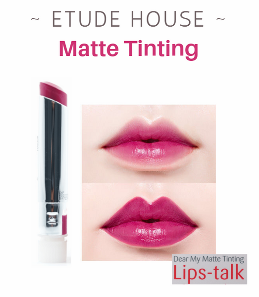 Etude House - Dear My Matte Tinting Lips-Talk (#PP501)