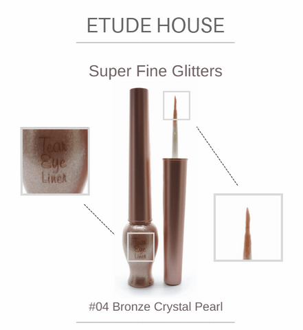 Etude House - Tear Eye Liner (#04 Bronze Crystal Pearl)