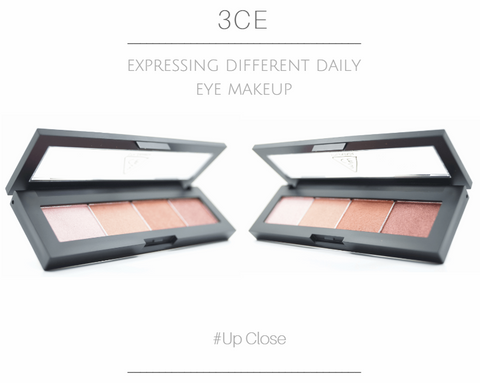 3CE - Eyeshadow Palette (#Up Close) show case