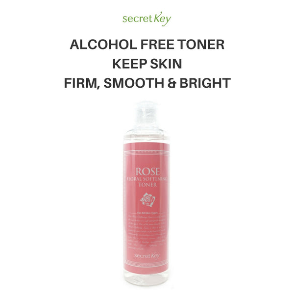 Secret Key Fresh Nature Toner Rose Floral Softening 248ml