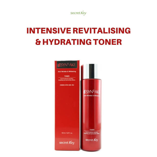 Secret Key SYN-AKE Anti Wrinkle & Whitening Toner 150ml