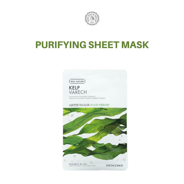THE FACE SHOP Real Nature Kelp Mask 20g