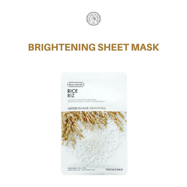 THE FACE SHOP Real Nature Rice Mask 20g