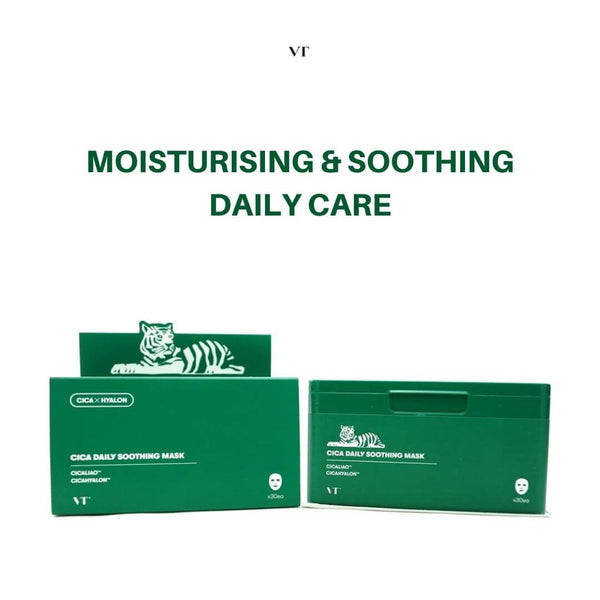 VT Cica Daily Soothing Mask 30ea/350g
