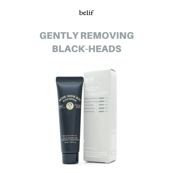 belif Nose-Shine Boy Black Edition 30ml