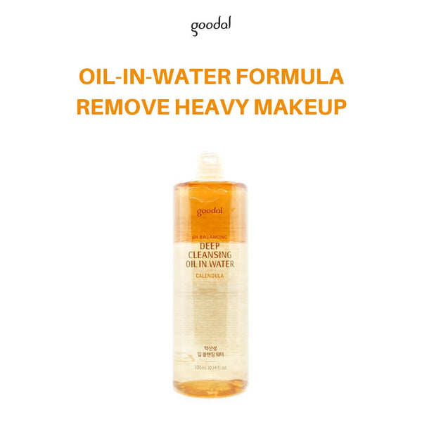 goodal Calendula pH Balancing Deep Cleansing Oil In Water 300ml