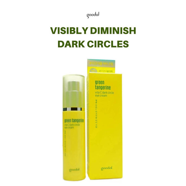 goodal Green Tangerine Vita C Dark Circle Eye Cream 30ml