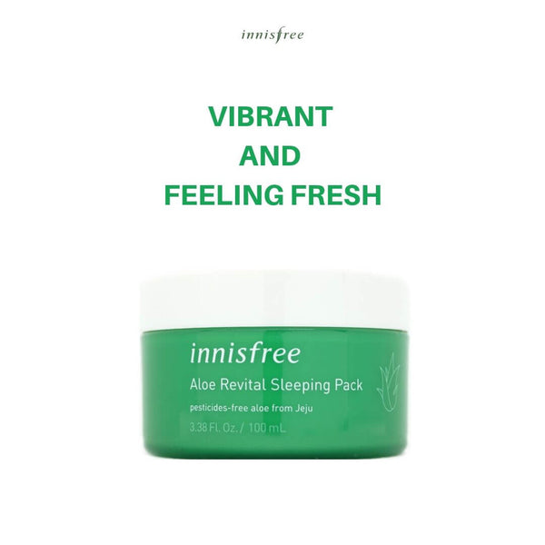 innisfree Aloe Revital Sleeping Pack 100ml
