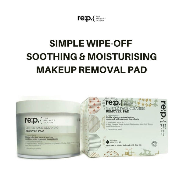 re:p. Gentle Face Cleaning Remover Pad (70 Pads) 180ml