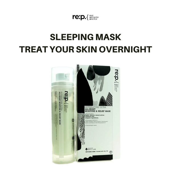 re:p. Nutrinature Ultra All-Night Moisture & Relief Mask 100ml