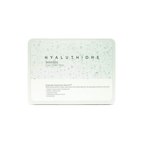 A'PIEU Hyaluthione Soonsoo Daily Sheet Mask 33 Sheets box 1