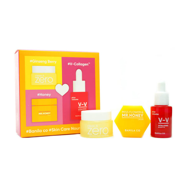 BANILA CO Skin Care Nourishing Kit (3pcs)