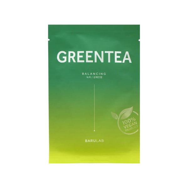 BARULAB The Clean Vegan Mask Green Tea 23g
