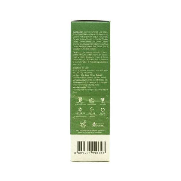 Benton Deep Green Tea Toner 150ml box 3