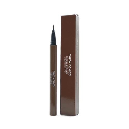 CHICA Y CHICO One Kill Eyeliner Liquid Brush Pen #Brown