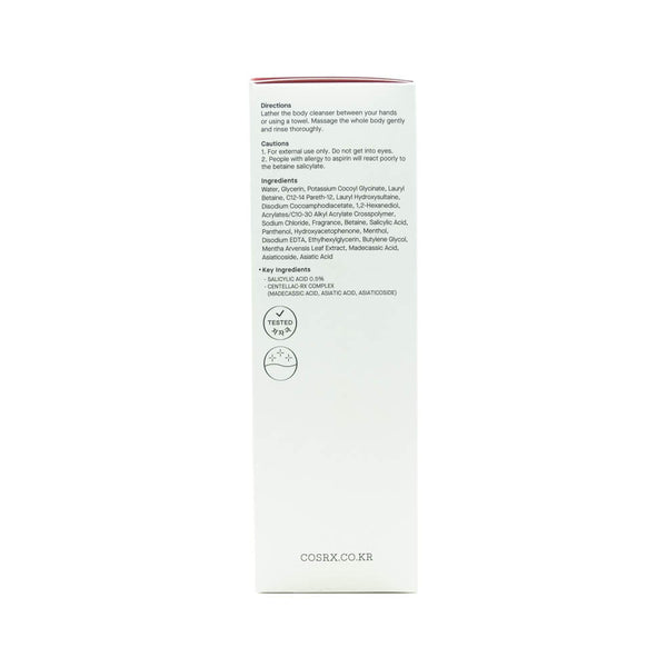 COSRX AC Collection Calming Solution Body Cleanser 310ml box 2