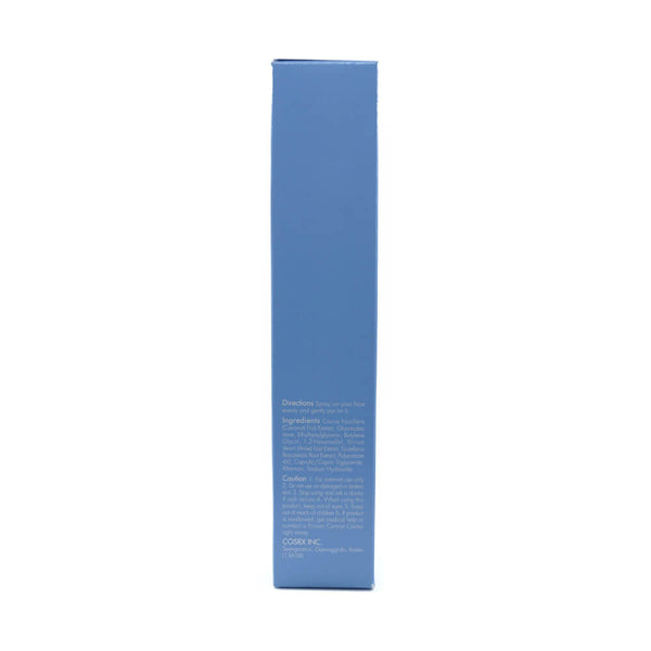 COSRX Low pH PHA Barrier Mist 75ml box info side 2