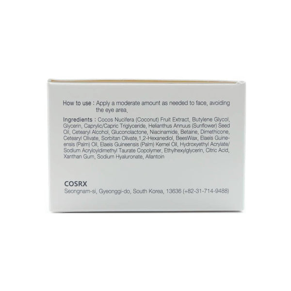 COSRX PHA Moisture Renewal Power Cream box info side1