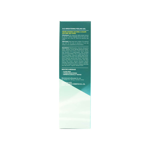 Dr.G Brightening Peeling Gel 120g box 3