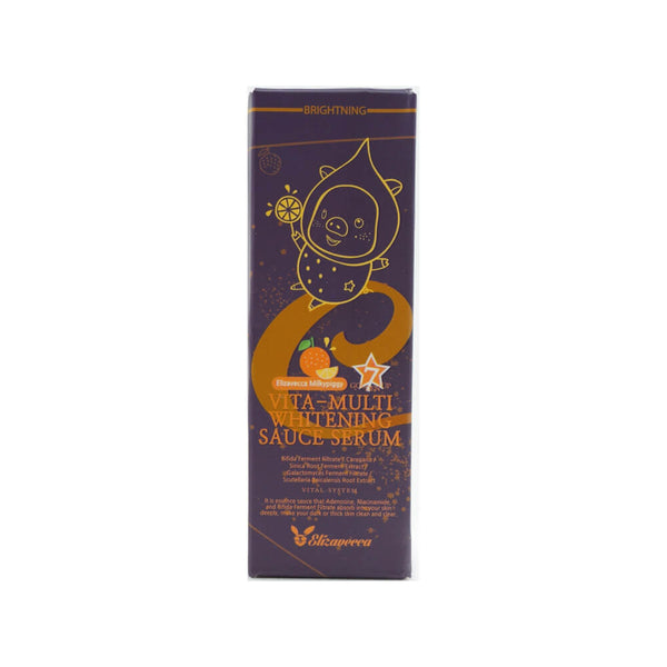 Elizavecca Vita-multi Whitening Source Serum 30ml box side 1