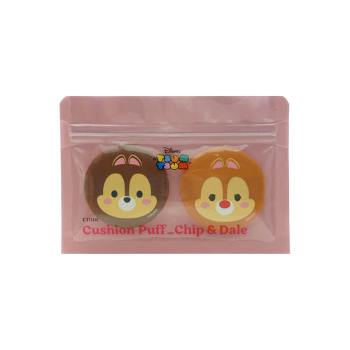 Etude House Disney Tsum Tsum Cushion Puff Chip & Dale