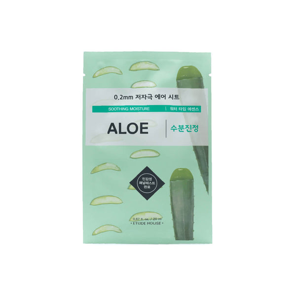 Etude House 0.2mm Therapy Air Mask 1pc Aloe