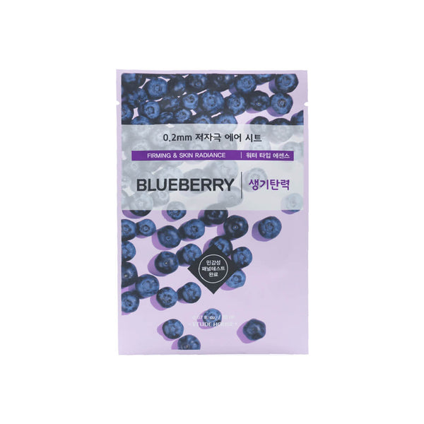 Etude House 0.2mm Therapy Air Mask 1pc Blueberry