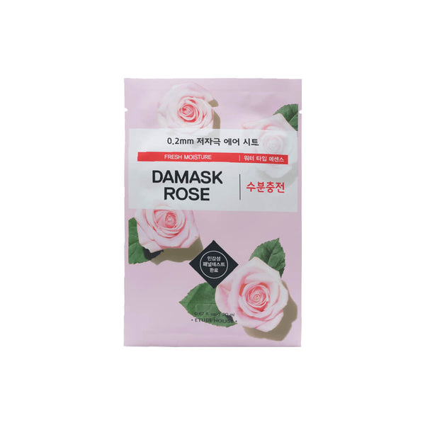 Etude House 0.2mm Therapy Air Mask 1pc Damask Rose