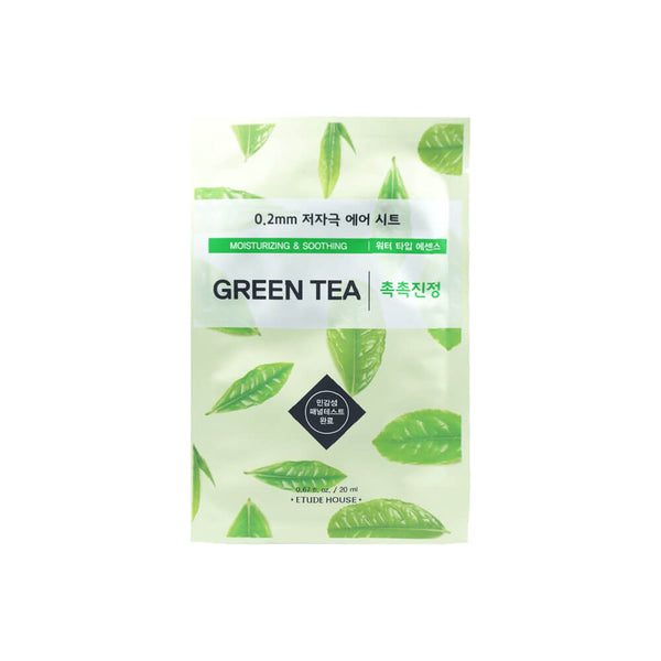 Etude House 0.2mm Therapy Air Mask 1pc Green Tea