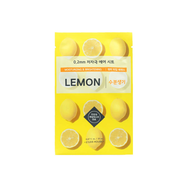 Etude House 0.2mm Therapy Air Mask 1pc Lemon