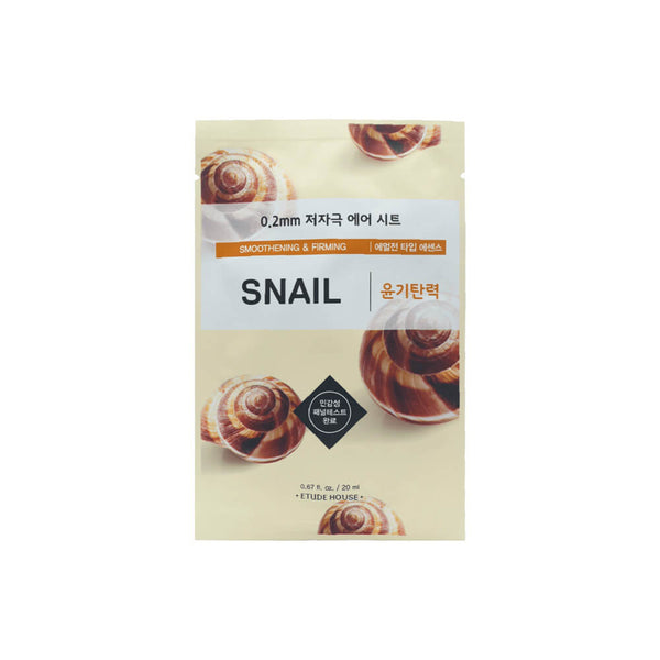 Etude House 0.2mm Therapy Air Mask 1pc Snail