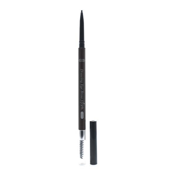 Etude House - Drawing Slim Eye Brows 1.5mm (#06 Soft Black) drawing tip side