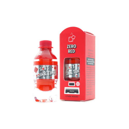 Etude House Soft Drink Tint (#RD301 Zero Red) 4.6g