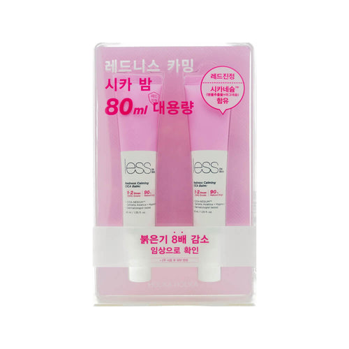 Holika Holika Less on Skin Redness Calming CICA Balm Special Set (40ml x2)