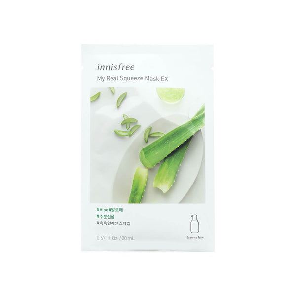 Innisfree My Real Squeeze Mask EX (Aloe) 20ml