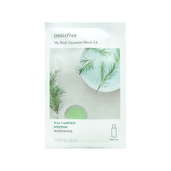 Innisfree My Real Squeeze Mask EX (Tea Tree) 20ml
