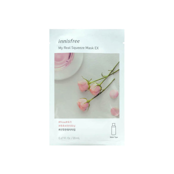 innisfree My Real Squeeze Mask EX (Rose) 20ml