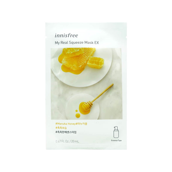 Innisfree My Real Squeeze Mask EX (Manuka Honey) 20ml