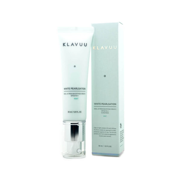 KLAVUU White Pearlsation Ideal Actress Backstage Cream mint