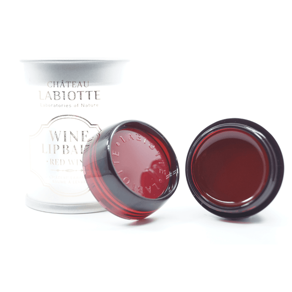 LABIOTTE Chateau Labiotte Wine Lip Balm #03 Red Wine lying down